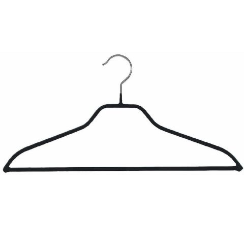 Metro Thick Metal Non Slip Rubber Heavy Duty Coat & Trouser Hanger